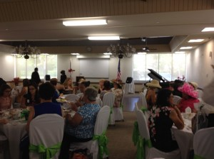 Photo showing some of the 170-odd attendees and decoration